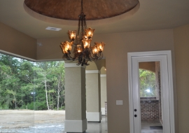 11 Dining Room with Dome Ceiling