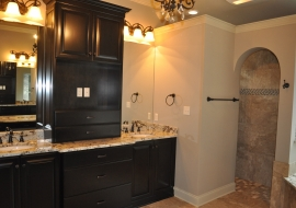 22 Master Bath Vanities and Shower