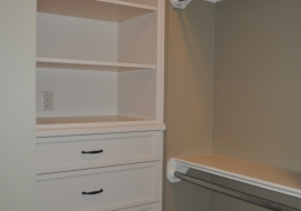 36 -Master Closet Drawer Unit