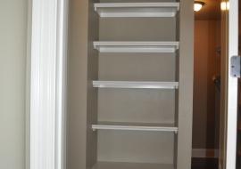 37 - Master closet Shelves