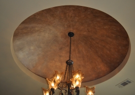 12 Dome Ceiling Faux Finish